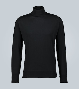 John Smedley - Richards wool turtleneck sweater - mytheresa.com