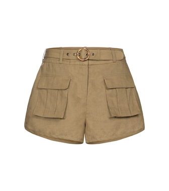 Zimmermann - Brighton linen-blend shorts - mytheresa.com
