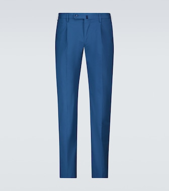 Incotex - Stretch-cotton casual pants - mytheresa.com