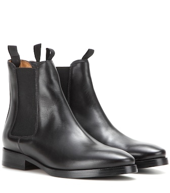 Acne Studios - Bess leather Chelsea boots - mytheresa.com