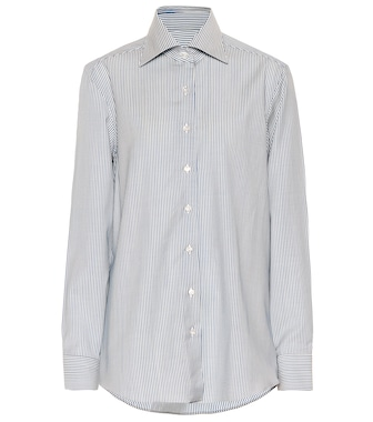 Giuliva Heritage Collection - Camicia Elvira a righe in lana - mytheresa.com