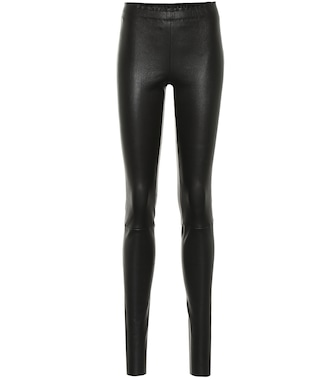 Stouls - Carolyn leather leggings - mytheresa.com