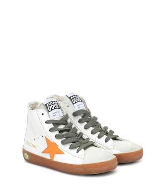 Golden Goose Kids - Francy leather sneakers - mytheresa.com