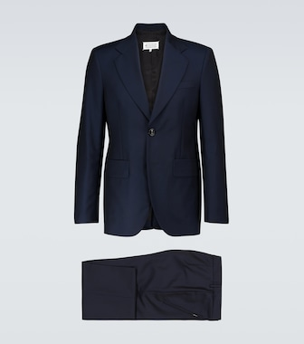 Maison Margiela - Wool and mohair-blend suit - mytheresa.com