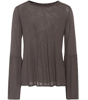 Velvet - Kamry cotton-blend top - mytheresa.com