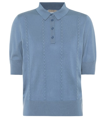 Bottega Veneta - Wool polo shirt - mytheresa.com