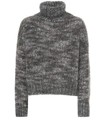 Brunello Cucinelli - Mohair and cashmere-blend sweater - mytheresa.com