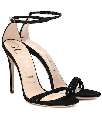 Gucci - Suede sandals - mytheresa.com