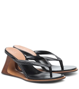 Marni - Leather sandals - mytheresa.com