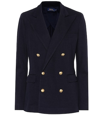Polo Ralph Lauren - Knit double-breasted blazer - mytheresa.com