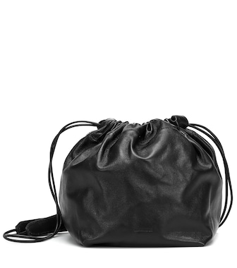 Jil Sander - Leather bucket bag - mytheresa.com