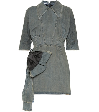 Miu Miu - Denim minidress - mytheresa.com