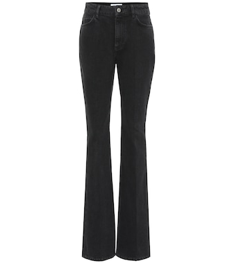 The Attico - High-rise flared jeans - mytheresa.com