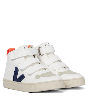 Veja Kids - V-10 Mid faux leather sneakers - mytheresa.com