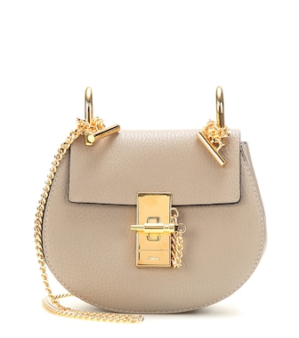 Chloé - Nano Drew leather shoulder bag - mytheresa.com