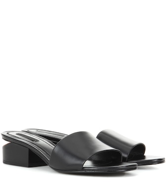 Alexander Wang - Lou leather sandals - mytheresa.com