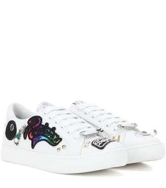 Marc Jacobs - Empire embellished sneakers - mytheresa.com