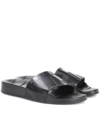 Jimmy Choo - Rey slides - mytheresa.com