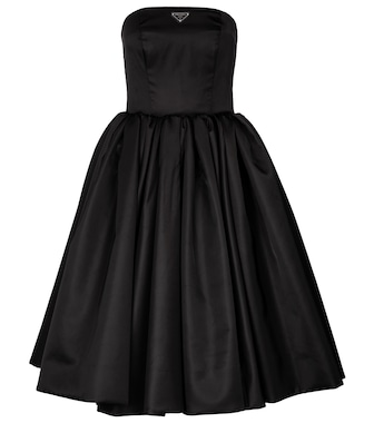 Prada - Midikleid aus Re-Nylon - mytheresa.com