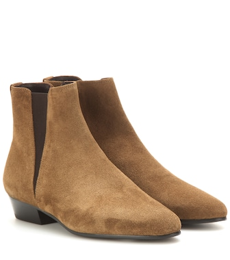 Isabel Marant - Étoile Ralf suede ankle boots - mytheresa.com
