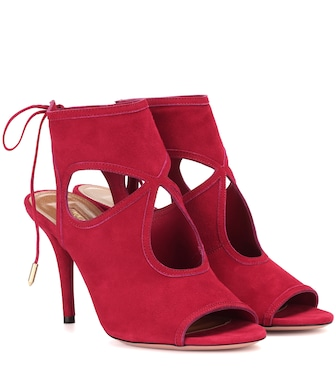 Aquazzura - Sexy Thing suede sandals - mytheresa.com