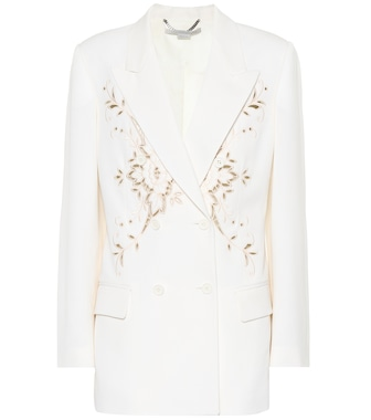 Stella McCartney - Embroidered wool blazer - mytheresa.com