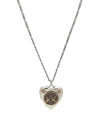 Alexander McQueen - Heart necklace - mytheresa.com