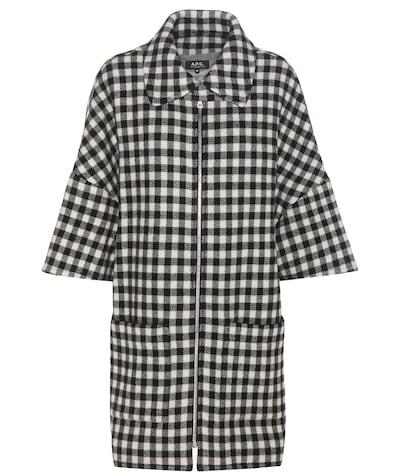 apc female granville woolblend cape