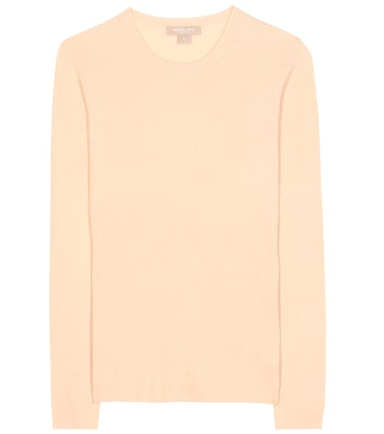 michael kors female 186518 ribbed cashmere sweater