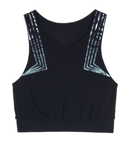 Blackstar Printed Crop Top