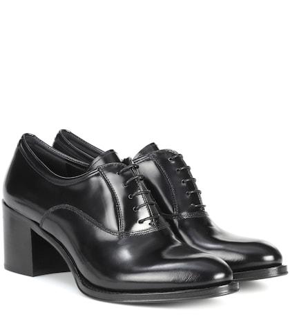 Sathene leather Oxford shoes