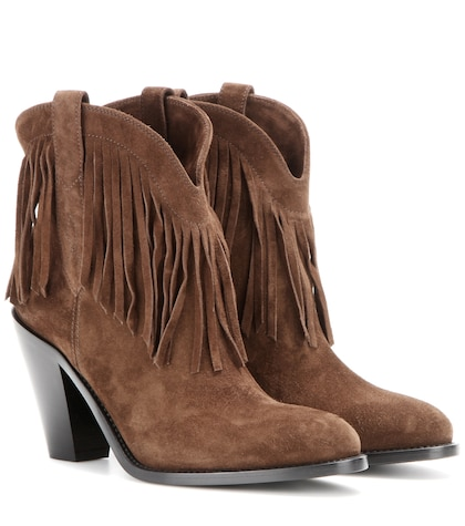 Curtis 80 fringed suede cowboy boots
