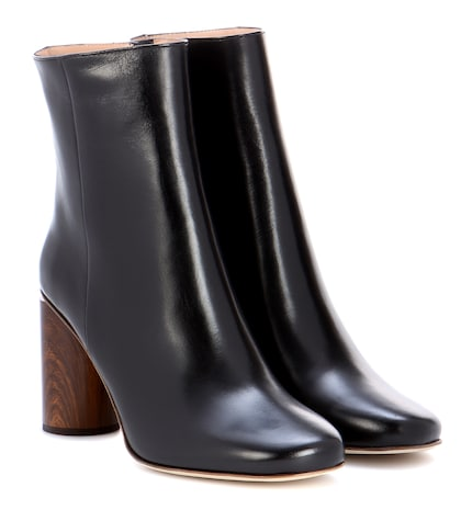 Allis leather ankle boots