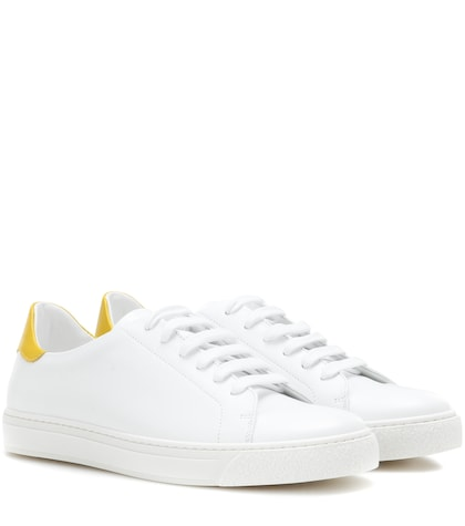 anya hindmarch female wink leather sneakers