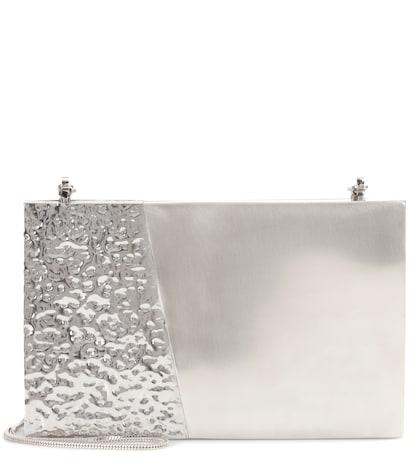 Tilda shell and steel shoulder bag
