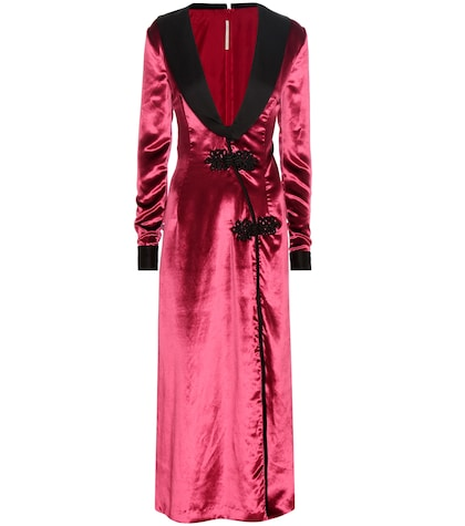 alessandra rich female 250960 velvet and satin dress