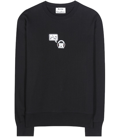 Carly Emoji Cotton Sweatshirt
