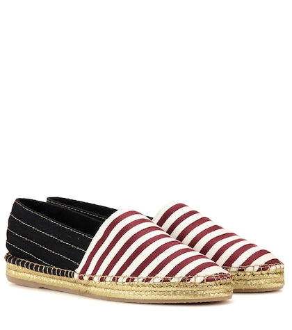 marc jacobs female printed fabric espadrilles