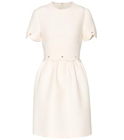 Wool and silk dress