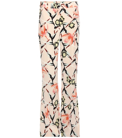 Perfect Paradise Printed Silk Trousers
