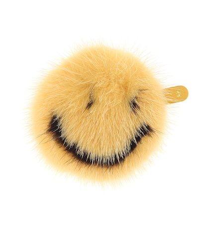 Smiley Fur Sticker