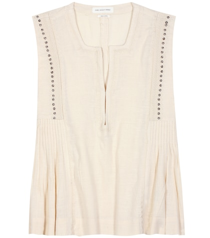isabel marant etoile female adonis cottonblend top