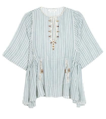 isabel marant etoile female joy cotton top