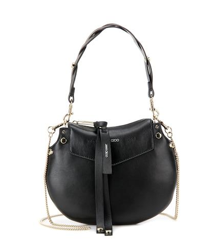 jimmy choo female artie mini leather shoulder bag