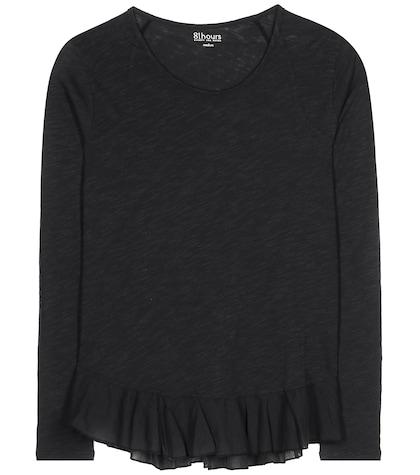 81hours female 188971 nella cotton jersey top