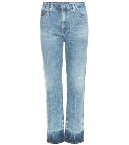ag jeans female the phoebe highrise tapered jeans