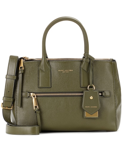 marc jacobs female recruit leather tote