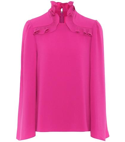 Crêpe blouse