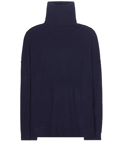 Turtle virgin wool and cashmere turtleneck sweater