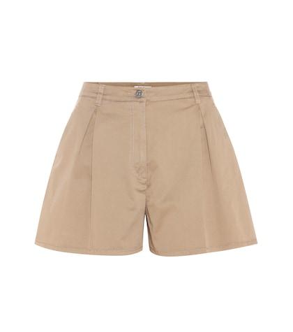 miu miu female cotton shorts